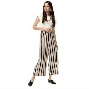 Aritzia WILFRED Striped Faun Pant